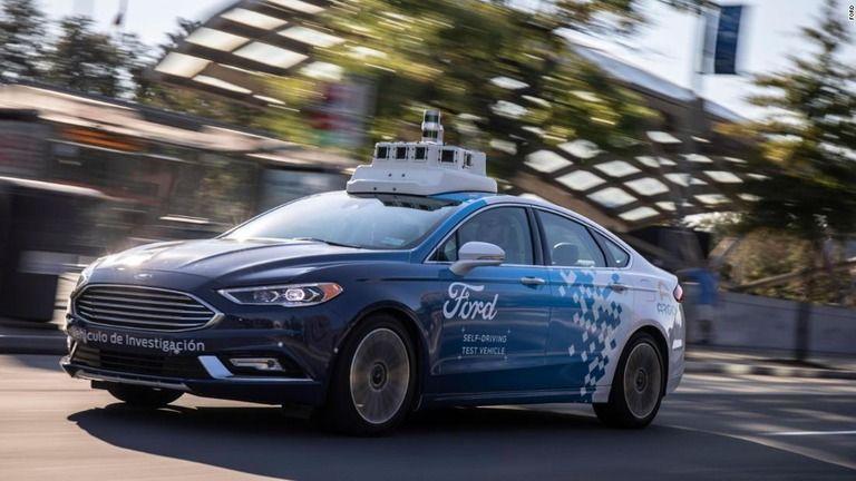 フォードと百度、自動運転車の共同実験 年内に北京で