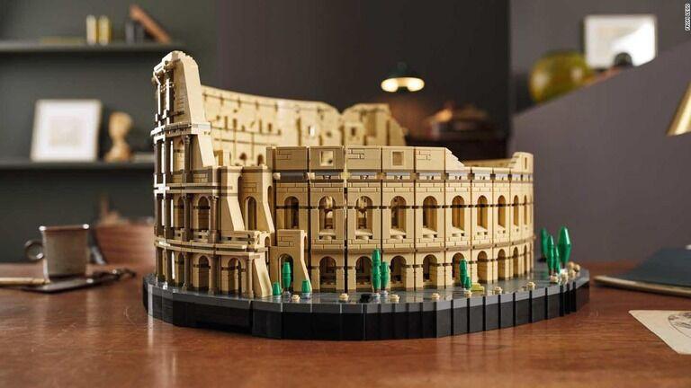 レゴ史上最大級の「コロッセオ」が登場、すでに品切れ