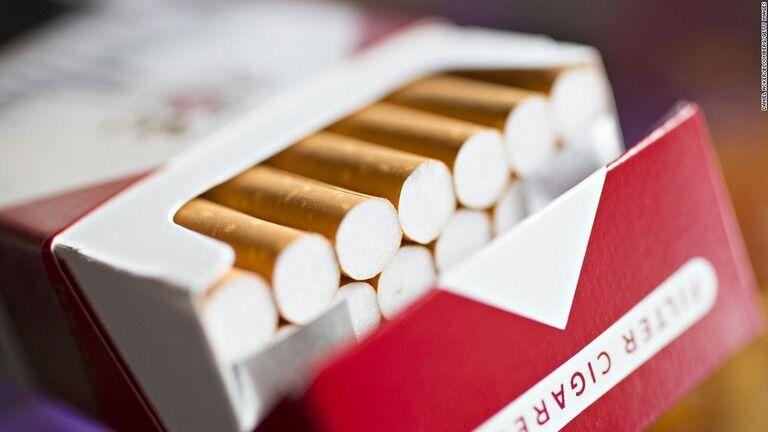 たばこのニコチン含有量、依存性なくす水準に 米政権が新規制を検討か