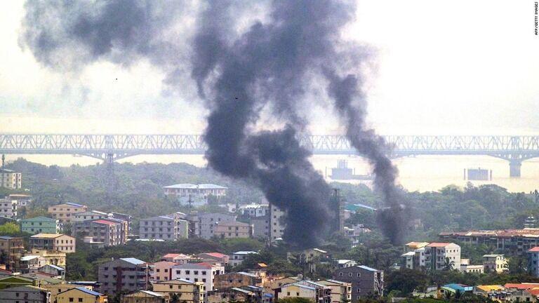 ミャンマーの少数民族支配地域、軍の空爆で子どもも死傷