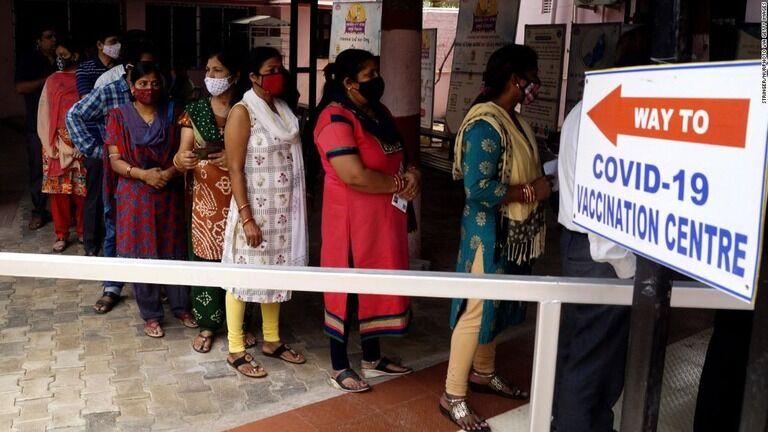 新型コロナワクチンの接種対象、5月から18歳以上に インド