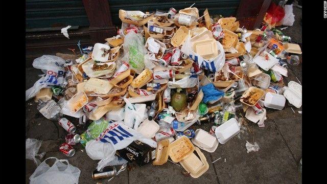 企業40社、プラスチックごみの「一掃」を宣言 英