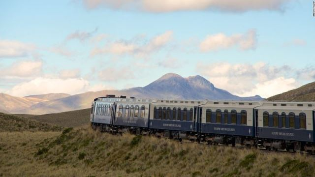 写真特集:南米ペルー、豪華列車の旅