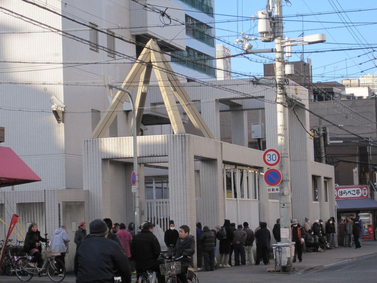 ねこむすめのブログ:西成警察署