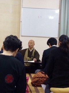 静岡鯖大師坐禅会の様子