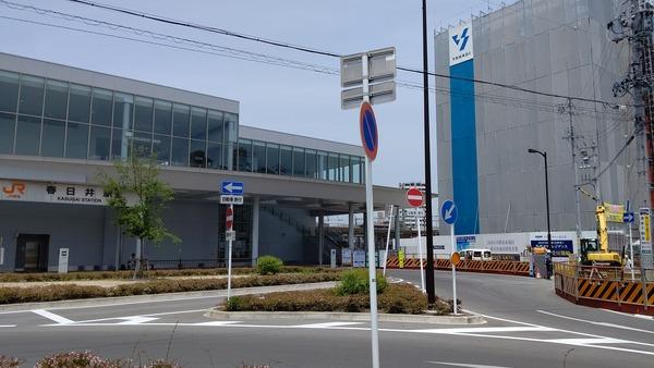 JR春日井駅とプラウドタワー春日井