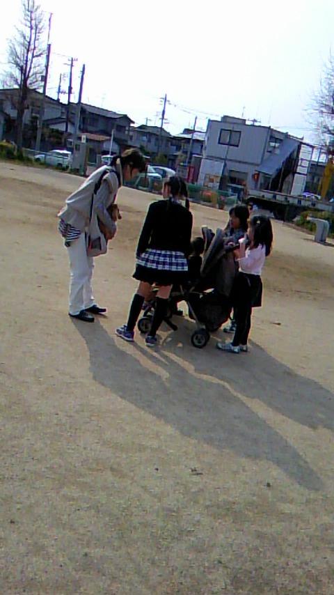 双子を授かっちゃいましたヨ☆-0427公園04