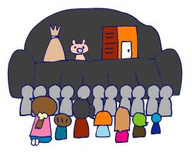 双子を授かっちゃいましたヨ☆-0221人形劇05