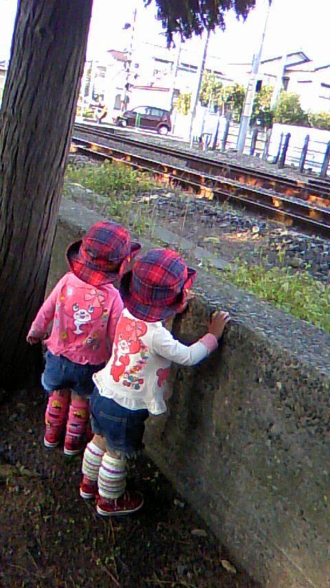 双子を授かっちゃいましたヨ☆-1011電車01