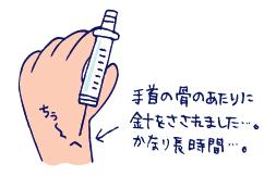 双子を授かっちゃいましたヨ☆-0419腱鞘炎02