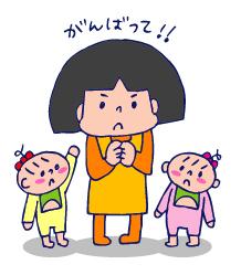 双子を授かっちゃいましたヨ☆-0326うんち原発04