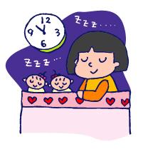 双子を授かっちゃいましたヨ☆-0225睡眠01
