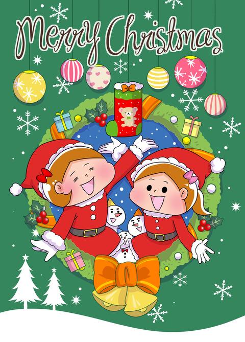 クリスマスカードポスカ