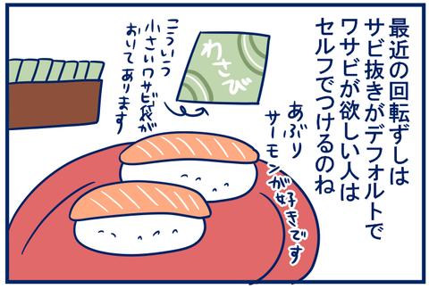 お寿司にワサビを足すときの思い込み。