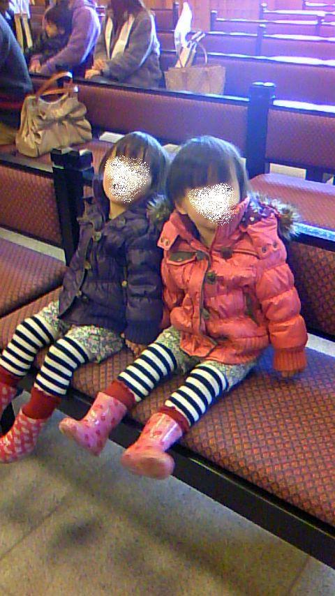双子を授かっちゃいましたヨ☆-0112はつもうで01