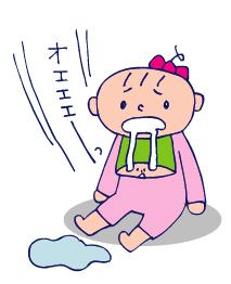 双子を授かっちゃいましたヨ☆-1124胃腸炎02