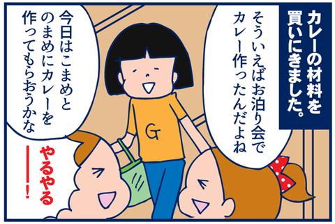 第62話 カレーはお任せ【キャミリー更新】