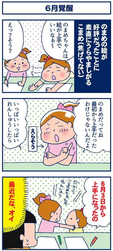 【3コマ】6月覚醒(とGの精神と時の部屋)
