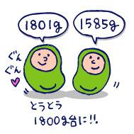 双子を授かっちゃいましたヨ☆-1125_32週検診01