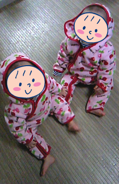 双子を授かっちゃいましたヨ☆-1108カバーオール