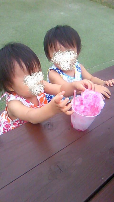 双子を授かっちゃいましたヨ☆-0813ふるさと村03