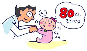 双子を授かっちゃいましたヨ☆-04173、4ヵ月検診03