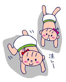 双子を授かっちゃいましたヨ☆-0902ハイハイ01