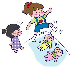 双子を授かっちゃいましたヨ☆-0608子供02