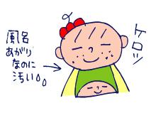 双子を授かっちゃいましたヨ☆-0207風呂麦茶事件04