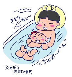 双子を授かっちゃいましたヨ☆-0617湯船02