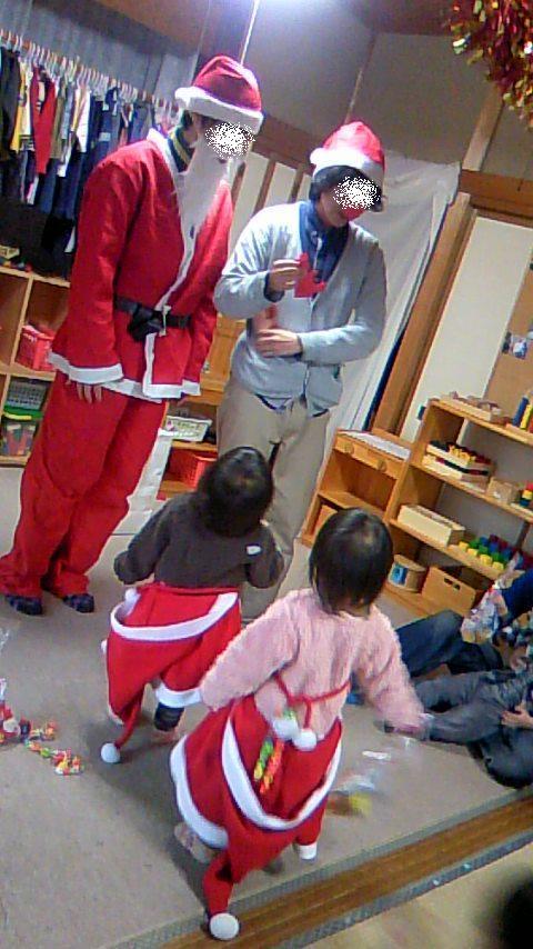 双子を授かっちゃいましたヨ☆-1213クリスマス会04