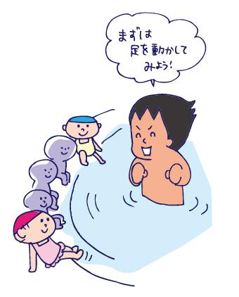 水泳体験教室(その2)