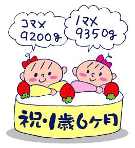 双子を授かっちゃいましたヨ☆-06151歳6ヵ月01