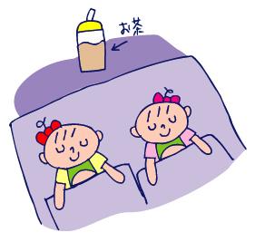 双子を授かっちゃいましたヨ☆-0818夢遊病01