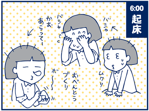 ぐっちぃ家の1日(午前中)