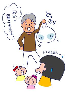 双子を授かっちゃいましたヨ☆-0107お菓子04