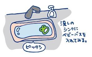実家にて~沐浴編~