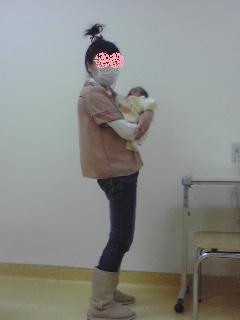 双子を授かっちゃいましたヨ☆-0111_退院01