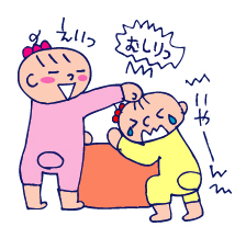 双子を授かっちゃいましたヨ☆-1108いじめ02