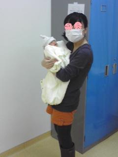 双子を授かっちゃいましたヨ☆-0103退院