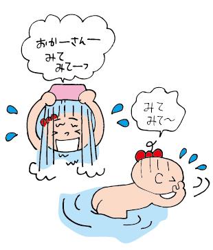双子を授かっちゃいましたヨ☆-1004水の神様03