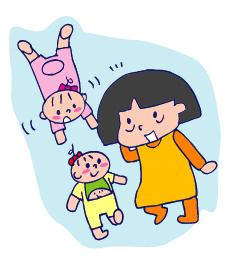 双子を授かっちゃいましたヨ☆-0712すりすり01