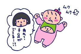 双子を授かっちゃいましたヨ☆-0122一ヶ月検診04