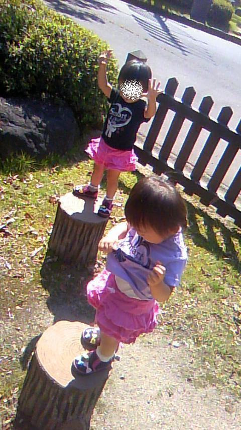 双子を授かっちゃいましたヨ☆-0930公園03