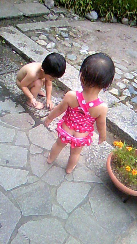 双子を授かっちゃいましたヨ☆-0720プール04