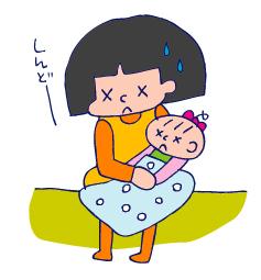 双子を授かっちゃいましたヨ☆-0524胃腸炎07