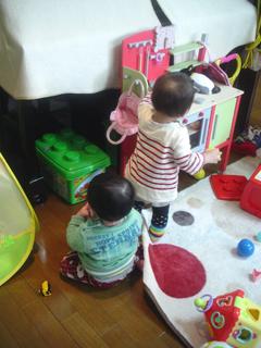 双子を授かっちゃいましたヨ☆-0214遊びに行く01