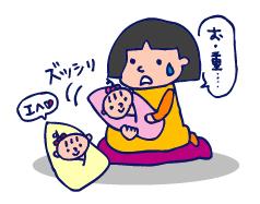 双子を授かっちゃいましたヨ☆-0116_1ヵ月02