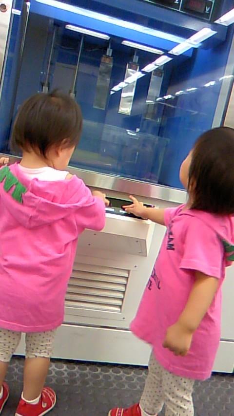 双子を授かっちゃいましたヨ☆-0830自然科学館02