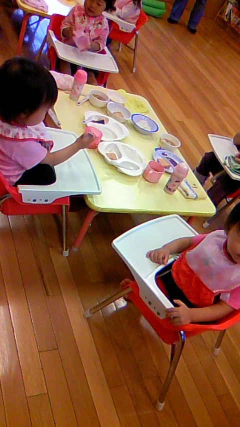 双子を授かっちゃいましたヨ☆-0923食育01